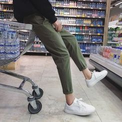 Ferdan - Cropped Straight-Fit Pants