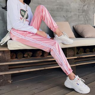Luminato - Side-Stripe Sweatpants