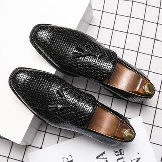 WeWolf - Croc Grain Loafers