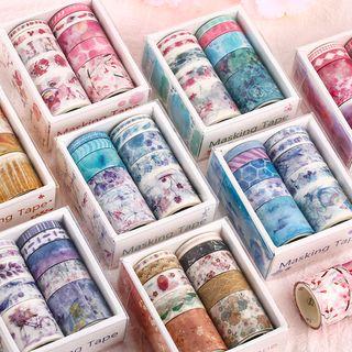 Nina's House - Set de 10: Cinta adhesiva estampada (Varios diseños)