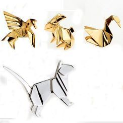 Teeny Trendy - Alloy Origami Animal Brooch