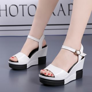 hunigala - Platform Wedge Sandals