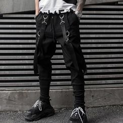 Ferdan - Strapped Slim Fit Pants
