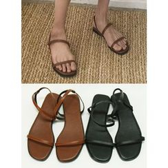MICHYEORA - Double-Strap Sandals