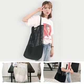 Shinshine - 网纱手提袋