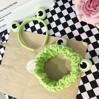 Small Planet(スモールプラネット) - Frog Headband / Face Wash Headband