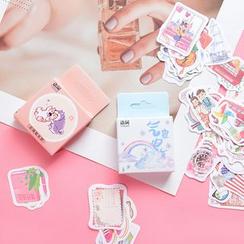 Hekki - Sticker Set 50pcs (Various Designs)