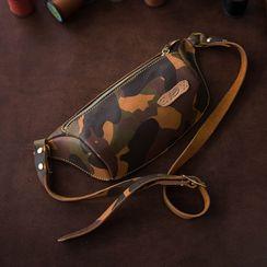 Carpaccio - DIY Genuine Leather Zip Belt Bag