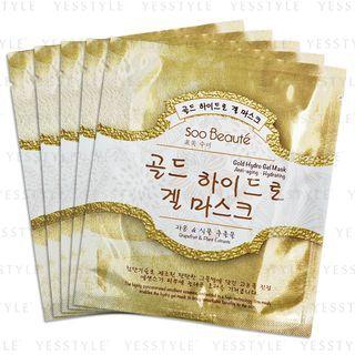 Soo Beauté - Gold Hydro Gel Mask Anti-aging, Hydrating