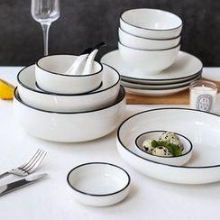 川岛屋 - 陶瓷勺 / 漏勺 / 碗 / 盘 (多款设计)