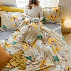 Sharemily - Floral Print Bedding Set