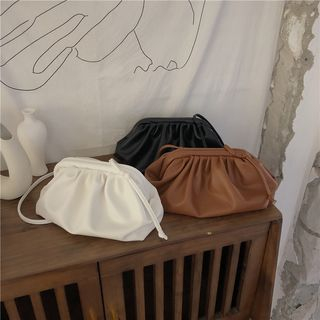 Minafox - Faux Leather Clutch