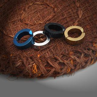 Prushia(プルシア) - Stainless Steel Cuff Earrings