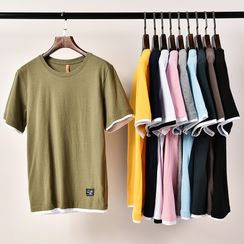 Rampo - Mock Two-Piece Short-Sleeve T-Shirt