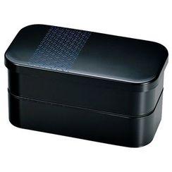 Hakoya - Hakoya Rectangular Lunch Box L Hisago Navy