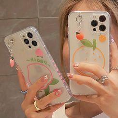 TinyGal - Fruit Transparent Phone Case - iPhone 12 Pro Max / 12 Pro / 12 / 12 mini / 11 Pro Max / 11 Pro / 11 / SE / XS Max / XS / XR / X / SE 2 / 8 / 8 Plus / 7 / 7 Plus
