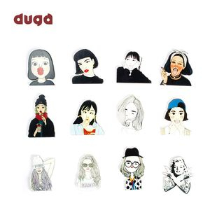 DUGA - Cartoon Sticker (various designs)