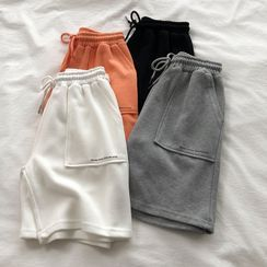 Fairy Essential - Plain Drawstring Sweatshorts