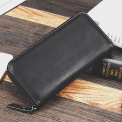 BagBuzz - Faux Leather Long Wallet