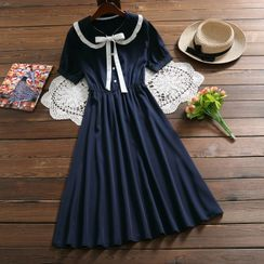 Kawaii Fairyland - Collared Skinny Dress