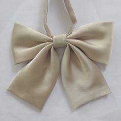 Candy House - 纯色蝴蝶结领带