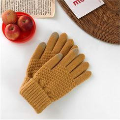 Glotto - Touchscreen Knit Mittens