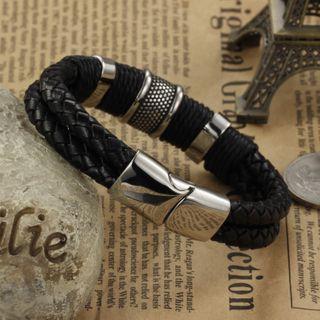 Tenri(テンリ) - Woven Leather Bracelet