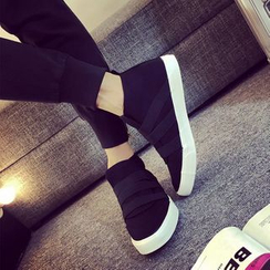 Solejoy - Adhesive Strap Sneakers