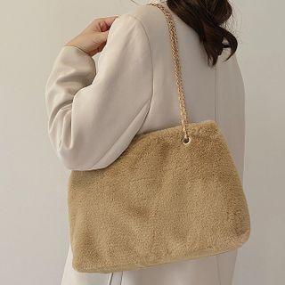 Ninorch - Chain Fluffy Tote Bag