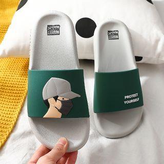 Ishanti - Cartoon Bathroom Slippers