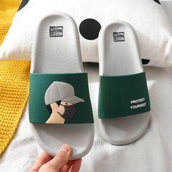 Ishanti - 卡通浴室拖鞋