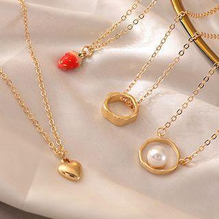 JAMIEL - Alloy Pendant Necklace (various designs)