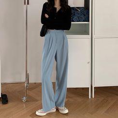 Roah - 高腰宽腿西裤