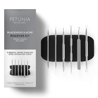 Petunia Skincare - Blackhead Extractor & Acne Remover Kit
