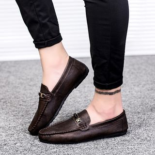 B-Z - Faux Leather Loafers