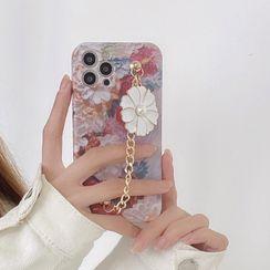Vachie(ヴァチー) - Flower Chained Phone Case - iPhone 12 Pro Max / 12 Pro / 12 / 12 mini / 11 Pro Max / 11 Pro / 11 / SE / XS Max / XS / XR / X / SE 2 / 8 / 8 Plus / 7 / 7 Plus
