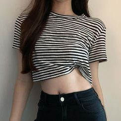 Bebop - Striped Short-Sleeve T-Shirt