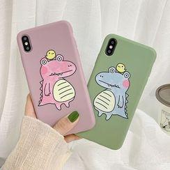 Aion - Crocodile Print Mobile Case - iPhone XS Max / XS / XR / X / 8 / 8 Plus / 7 / 7 Plus / 6s / 6s Plus