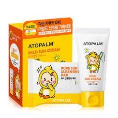 ATOPALM - Set especial de crema solar suave
