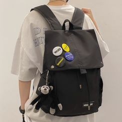 EAVALURE(イーヴァルア) - Flap Nylon Backpack