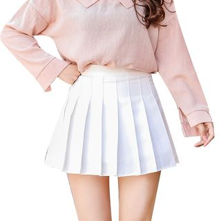 Niji Smile - Mini Pleated Skirt
