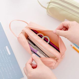 School Time - Printed 2-Layer Pencil Case