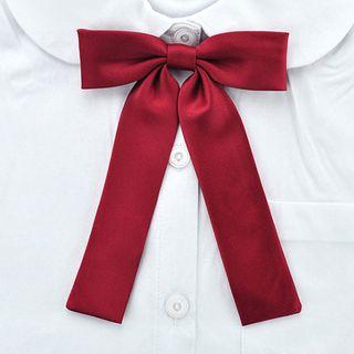College Affair - Plain Ribbon Bow Tie