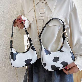 Faneur - Cow Print Shoulder Bag