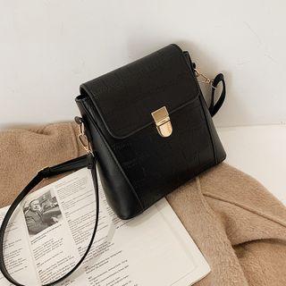 mizandrus - Plain Flap Crossbody Bag