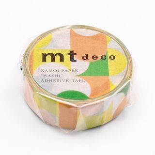 mt - mt Masking Tape : mt 1P Semicircle Yellowgreen