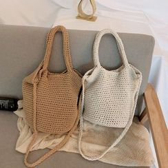 BAGSHOW(バッグショウ) - Woven Tote Bag