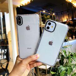 NISI - Transparent Phone Case - iPhone 12 / iPhone 11 Pro Max / 11 Pro / 11 / XS Max / XS / XR / X / 8 / 8 Plus / 7 / 7 Plus / 6s / 6s Plus