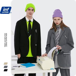 Newin - Unisex Loose-Fit Blazer / Dress Pants