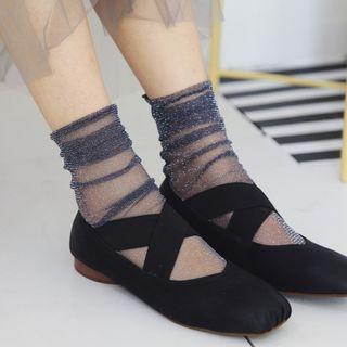 MEIA - 亮面袜